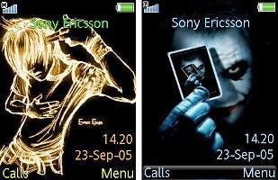 ۲ تم زیبا برای گوشی های سونی اریکسون ۳۲۰×۲۴۰